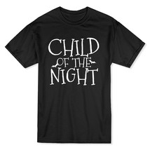 Child Of The Night Dance Under The Pale Moonlight Men's Black T-shirt - $11.87+