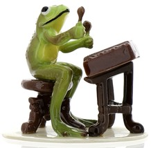 Hagen-Renaker Specialties Froggie Mountain Breakdown Bluegrass Frog Dulcimer