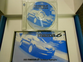 2003 Mazda 6 Technical Highlights Service Repair Shop CD VHS Video FACTORY 03 - $14.85
