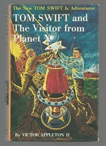 TOM SWIFT AND THE VISITOR FROM PLANET X picture cover 1962  Excellent++ - $14.85