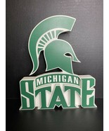 Michigan State 3D Wood Freestanding Sign Officially Licensed Spartans Co... - $23.51