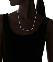 "Nuevo Fragments Cristal Pavé Negro Ondulado Colgante 16"" Collar + 2"" Extensor image 2"