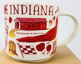 Starbucks 2018 Indiana Been There Collection Coffee Mug Brand New - $28.22