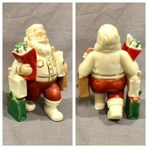 "Lenox Santa's Pastimes Shopper Christmas Holiday Decor 5"" Figurine With Box - $49.49"