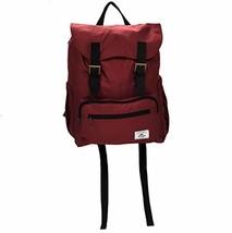 Everest Stylish Rucksack Backpack Burgundy One Size (Burgundy) - $39.90