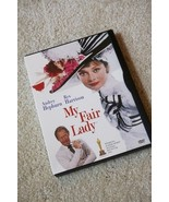 My Fair Lady:  Audrey Hepburn & Rex Harrison in the classic film, DVD - $9.80