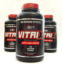 Nutrex Vitrix 120 Capsules Testosterone & Libido Booster Improved Energy... - $22.59