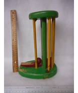 "Vintage Wood Toy Game 10"" Tall - $19.75"