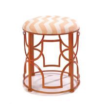 #10016182   *Chic Chevron Cushioned Metal Stool*  - $112.67