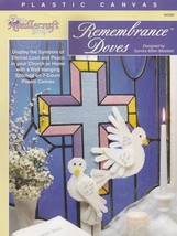 Remembrance Doves & Cross, The Needlecraft Shop Plastic Canvas Pattern 9... - $4.95