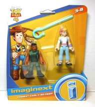 Imaginext Disney Toy Story 4 Combat Carl & Bo Peep 2 Figure Pack New - $16.24
