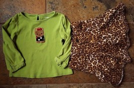 Girl's Size 24M 18-24 Months Green Gymboree Puppy Top & PLACE Animal Pri... - $27.00