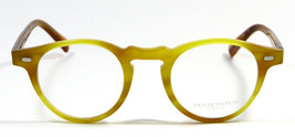 New Oliver Peoples Gregory Peck OV5186 1008 Yellow Brown Havana Eyeglass... - $227.81
