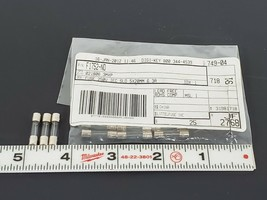 LOT OF 11 NEW LITTELFUSE F1752-ND FUSES 250V IEC SLO 5X20MM 6.3A