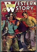 Western Story Magazine Pulp February 6 1937- Rustler's Prey VG - $63.05
