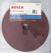 "Bosch GS750 7"" AO Fiber Resin Sanding Disc 50 Grit 5-pack - $4.70"