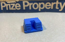 Prize Property Game Piece Health Spa Building  Blue Milton Bradley 1974 - $3.95