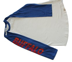 Junk Food Buffalo Sports Football Raglan Tee T-Shirt NWOT - $12.95