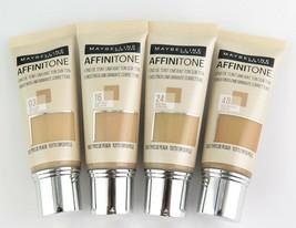 Maybelline Affinitone Unifying Foundation Cream 30 ml *Choose your shade* - $10.76