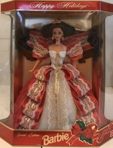 Happy Holidays Barbie Doll - Special Edition 10th Aniversary Hallmark 5t... - $37.40