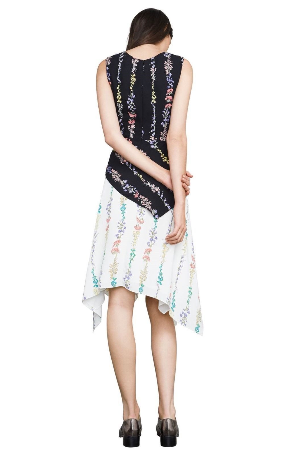 New BCBG MaxAzria Hadley Flroal Print Dress