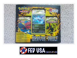 Pokemon Dragon Vault Blister Pack Latios Promo, 3 Booster Packs Pokemon TCG - $27.99