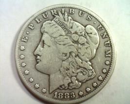 1883-CC MORGAN SILVER DOLLAR VERY FINE VF NICE ORIGINAL COIN BOBS COIN F... - $175.00