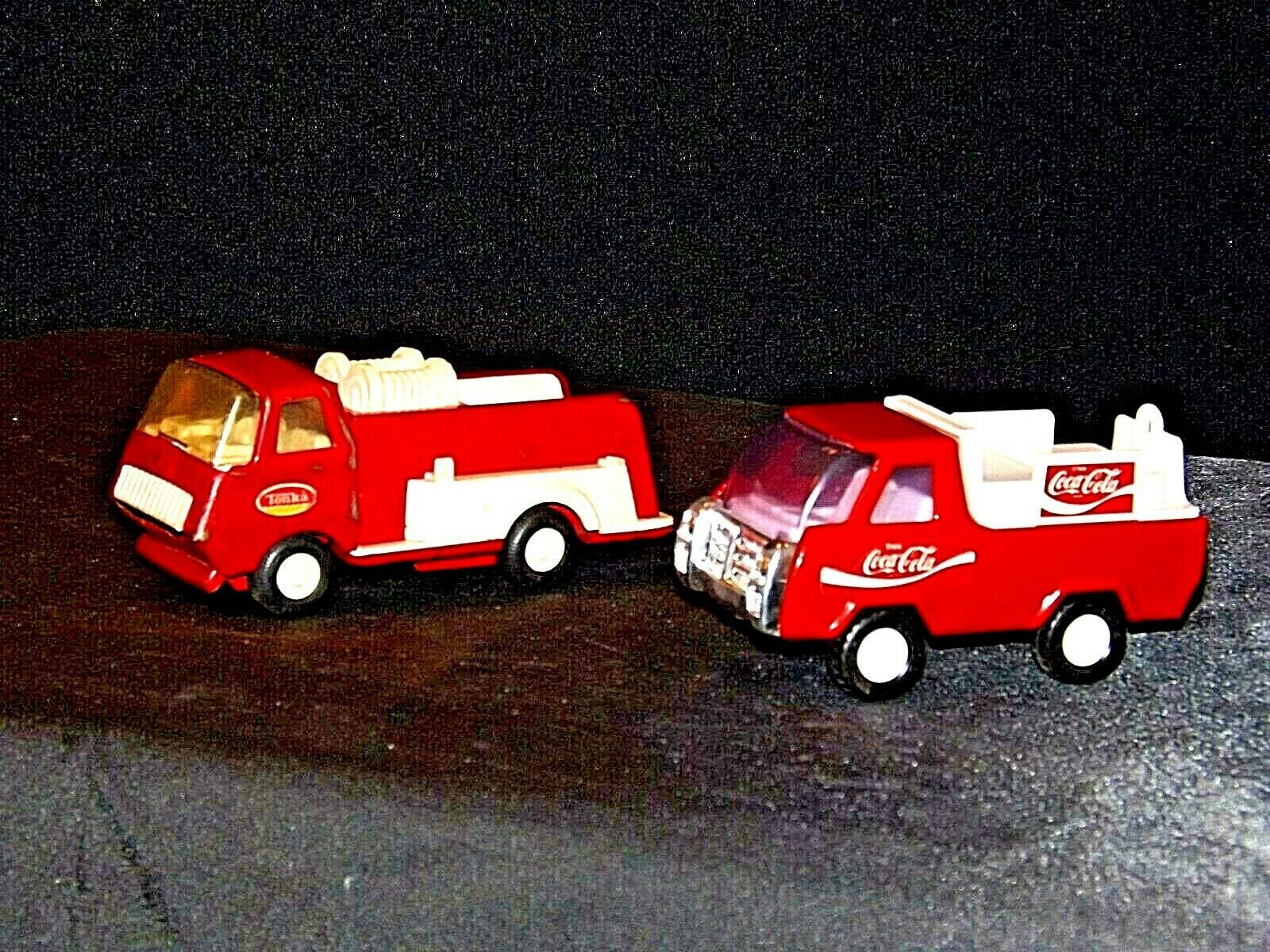 Die-cast Truck Coca-Cola and Tonka Trucks AA19-1506 Vintage