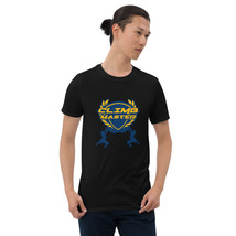 Mountaineering rock climbing bouldering climbing mountain Unisex Basic T-Shirt - $24.53+