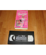 Dance Workout With Barbie (VHS, 1992) VTG - $3.16