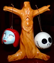 Disney Nightmare Before Christmas Jack Sally Tree Salt & Pepper Shaker Westland - $19.99