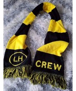 Columbus Crew soccer team sports striped scarf - $18.55