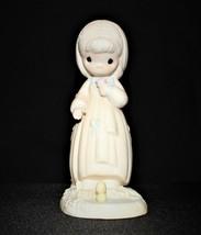 Precious Moments 1985 Summer's Joy Closed Edition Figurine, No. 12706, Cross - $15.00