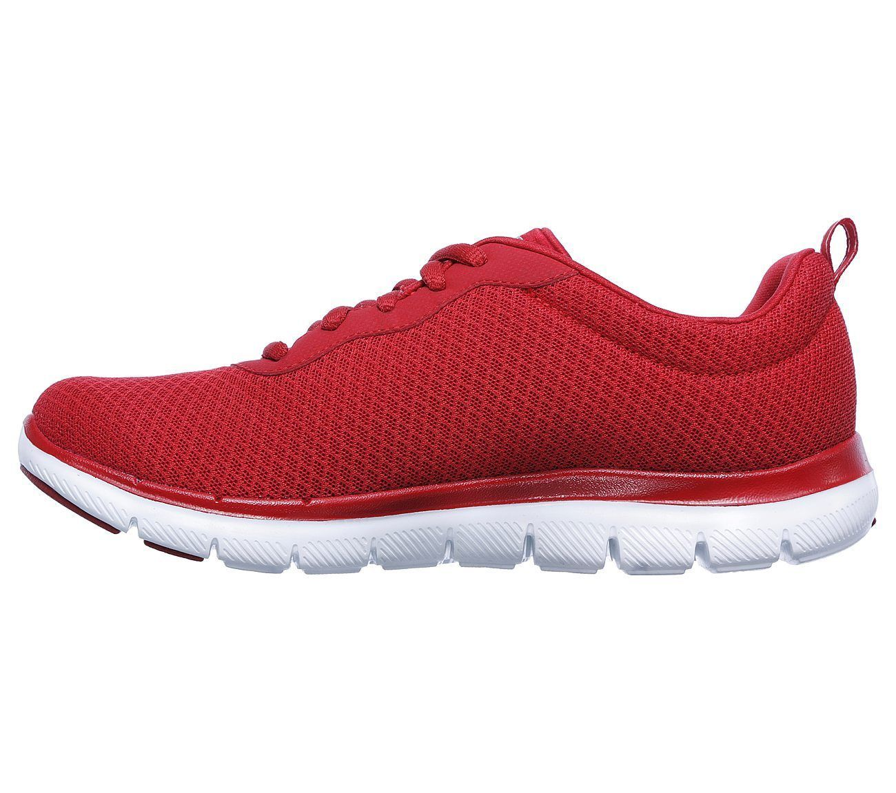 12775 Red Skechers shoes Women Memory Foam Sport Train Walk Comfort Casual Mesh