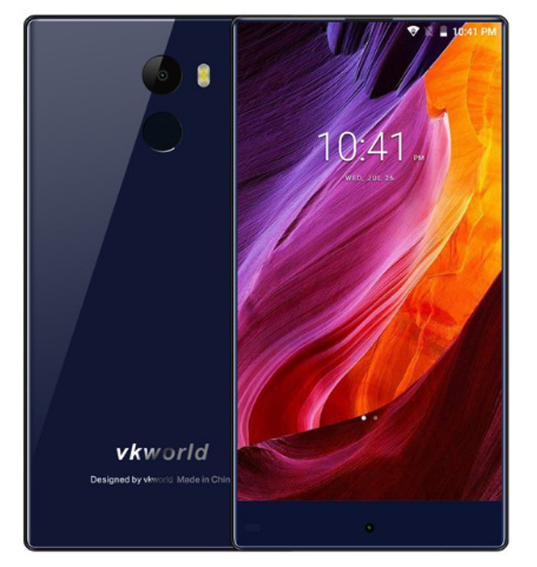 "Vkworld mix plus blue 3gb 32gb quad core 5.5""screen android 4g lte smartphone"
