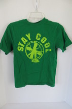 Boys Children's Place Green Graphic Short Sleeves T-Shirt Size M - $6.79