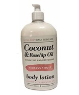 Hibiscus & Rose Coconut & Rosehip Oil Body Lotion, Large, 28 Fluid Ounce - $27.72