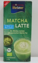 Messmer Japanese Matcha Latte -6 single bags- Made in Germany - $6.92
