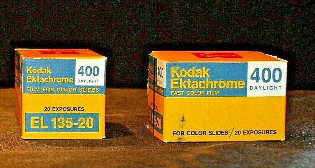 2 Rolls of Kodak Film AA20-2089 Vintage