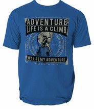 Life Is A Climb t shirt mountains gravity climber S-3XL  - $12.29+