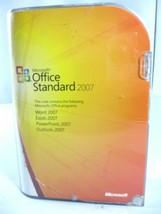 Microsoft Office Standard Std 2007 GEN Excel Powerpoint Word 021-07746 Win7 8 10 - $24.99