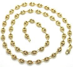 Cadena de Oro Amarillo 750 18K Largo 50 O 60 CM,Marina,Náuticos,Óvalos 5MM image 1