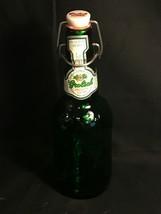 Vintage Grolsch Beer Bottle Swing Top Green Glass Empty 16 oz - $9.85
