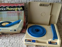 Fisher Price Phonograph Vintage 1979 Original Box - $48.49