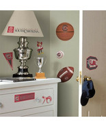 University of South Carolina Peel and Stick Wall Decals Appliques, NEW S... - $13.54