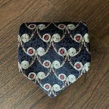 Men's Neck Tie Robert Talbott Best of Class Nordstrom Silk Black Gold Re... - $9.74