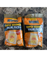 LOT of 2  HotHands Body & Hand Super Warmers Value Pack 18 Hours Expires... - $26.72