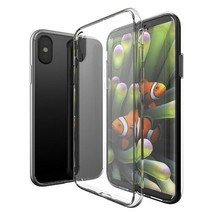 iPhone XS and X Clear Case TPU Transparent Shockproof - $5.67