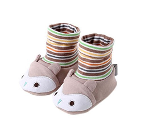2PCS Cute Crib Shoes Cotton Shoes Toddler Shoes Comfortable Shoes for Newborn