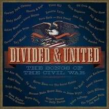 Divided & United: The Songs Of The Civil War 2 CD - $6.83